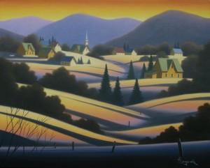 "Fin d'hiver (16""x20"")"