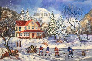 «Hockey» 24 x 36