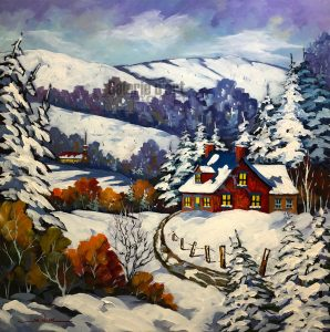 Neiges - 30 x 30