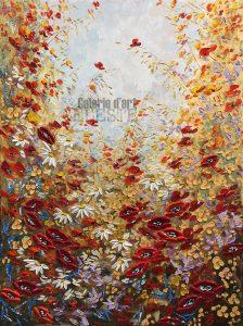 Fleurs 3 - 36 x 48