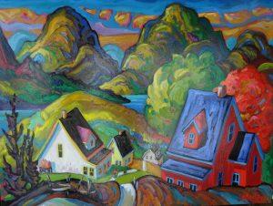 En revenant du Saguenay - 36 x 48