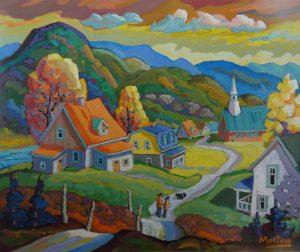 Village Petit Saguenay - 30 X 36
